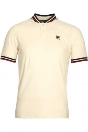 Skipper Baseball Polo Shirt Gardenia