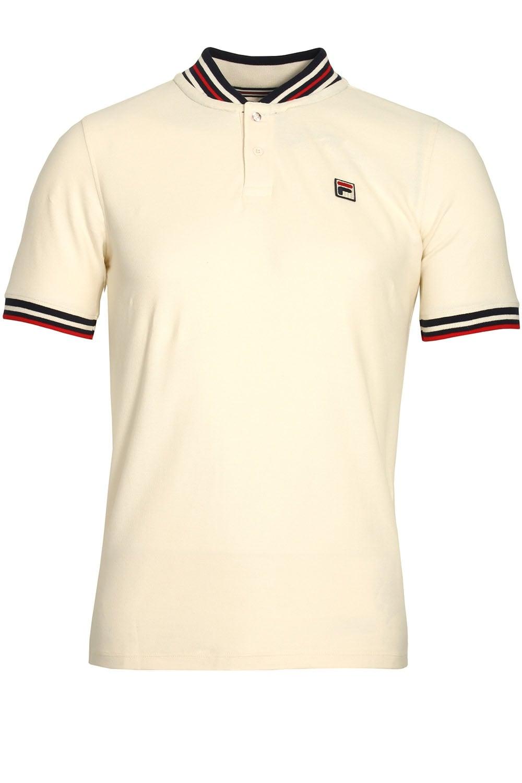 Fila Vintage Skipper Baseball Polo Shirt