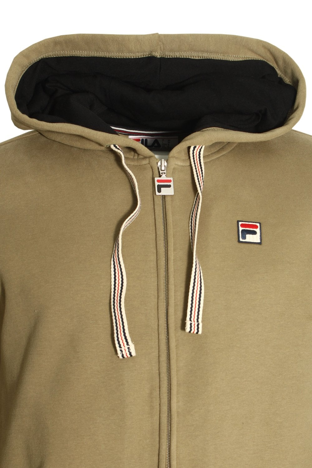 0d72a24140ab Activewear Clothes, Shoes & Accessories Dryg/Black Mens Hoody FILA VINTAGE  Tenconi Zip Through Hoodie