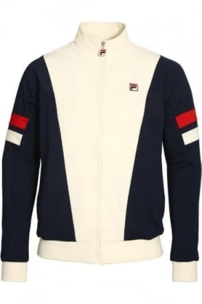Vanni V Panel Track Jacket | Peacoat