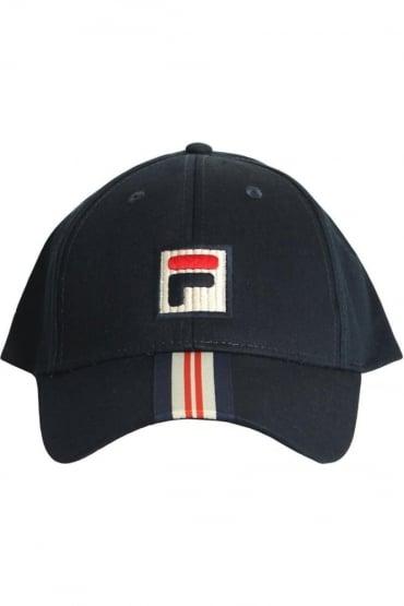 Walker Baseball Cap Peacoat