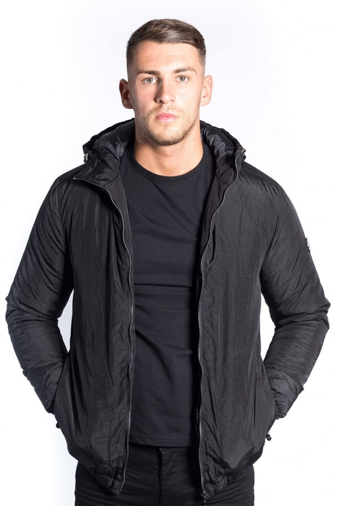 FORAY Core Hooded Down Jacket Black