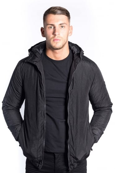 Core Hooded Down Jacket Black