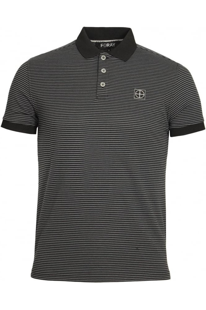 FORAY Dodge Polo Shirt | Black