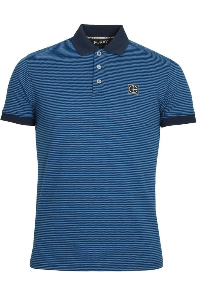 FORAY Dodge Polo Shirt | Dress Blue