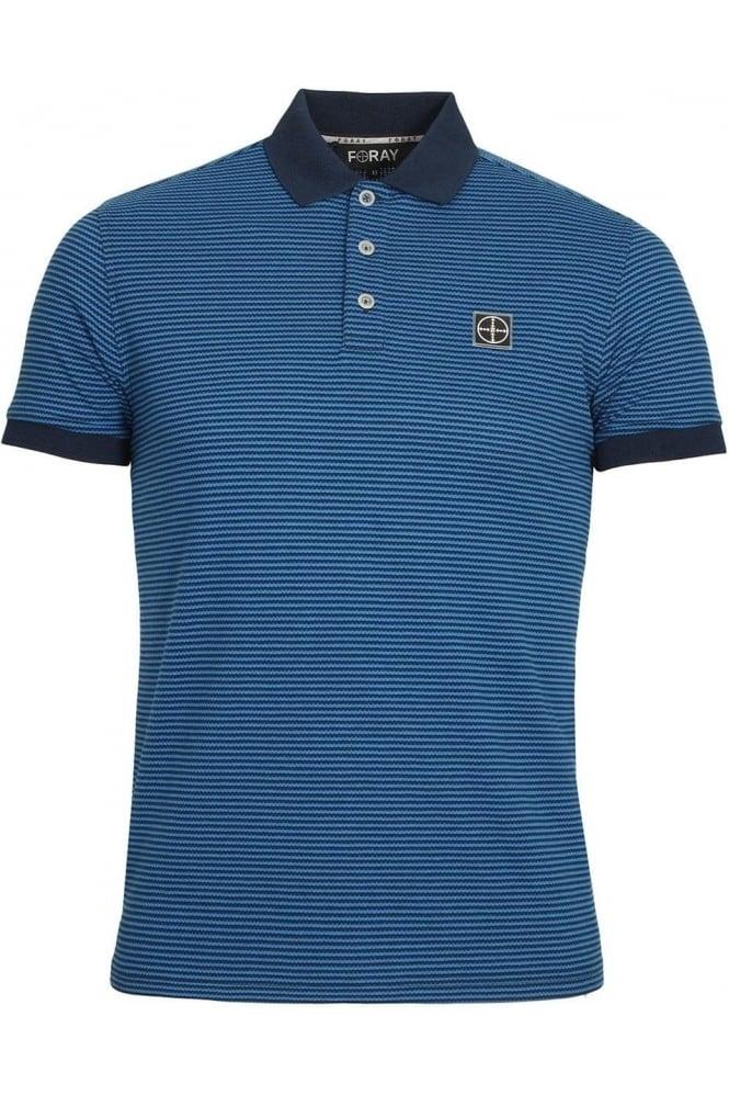 FORAY Dodge Polo Shirt | Dress Blue