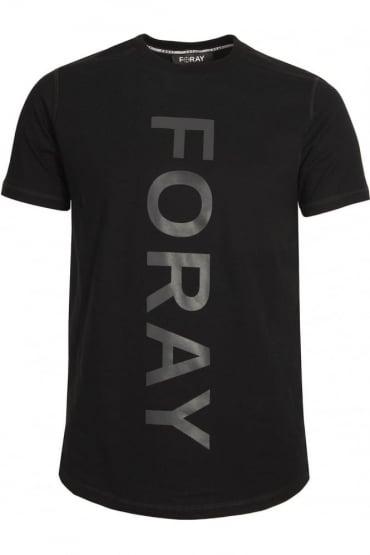 Draw Reflective Logo T-Shirt Black