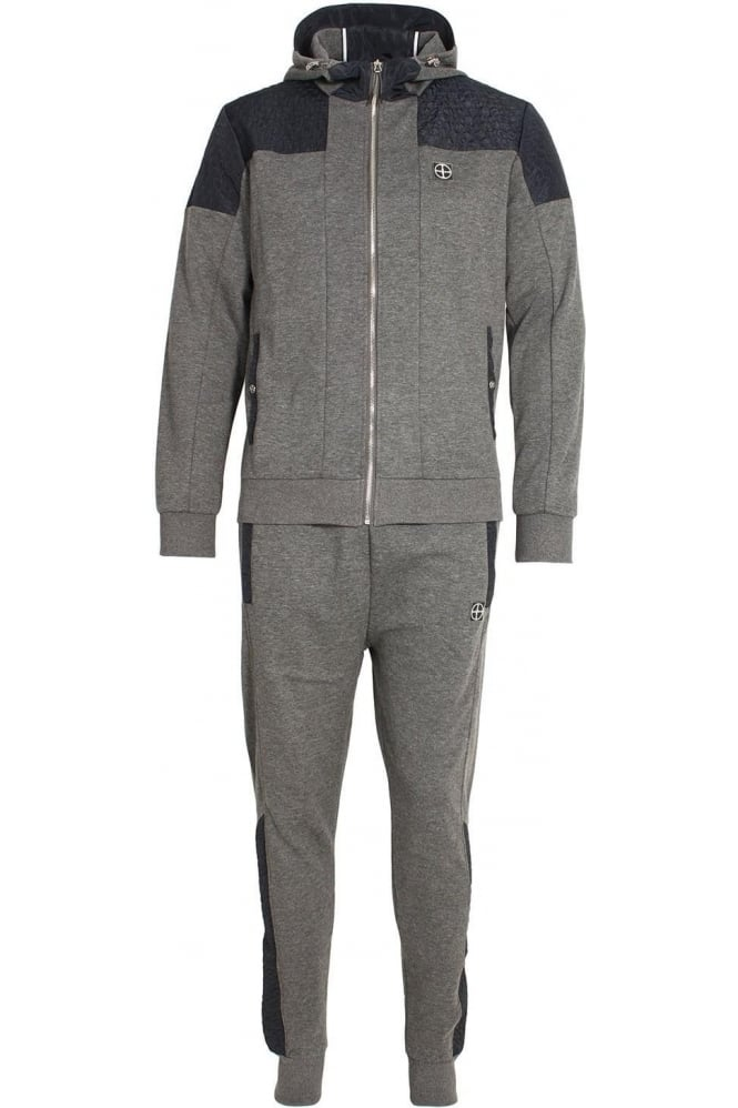 FORAY Dynamic Tracksuit | Charcoal Marl