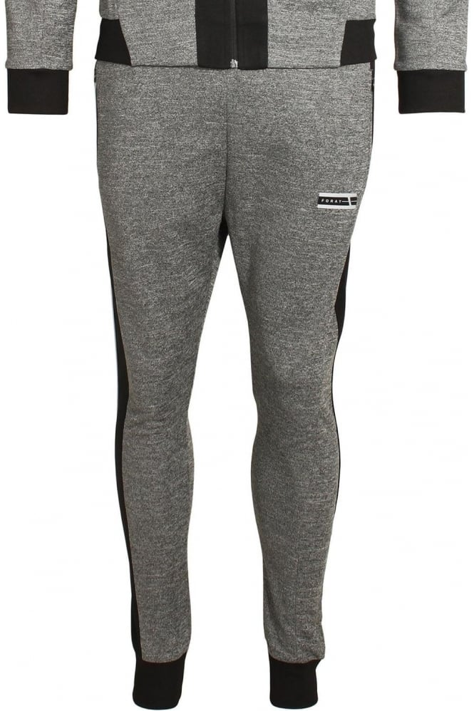 FORAY Ferrum Jogger | Anthracite & Black