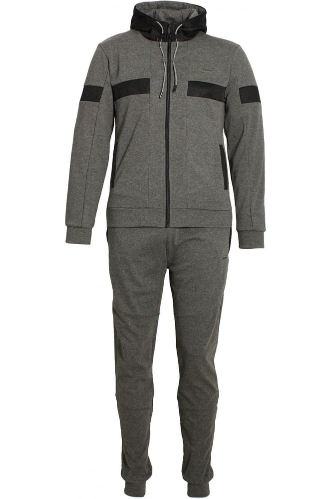 FORAY Flash Bonded Tech Tracksuit Charcoal
