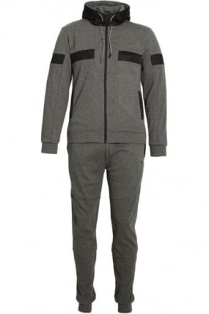 Flash Bonded Tech Tracksuit Charcoal