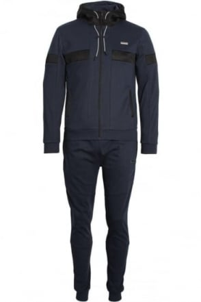Flash Bonded Tech Tracksuit Navy