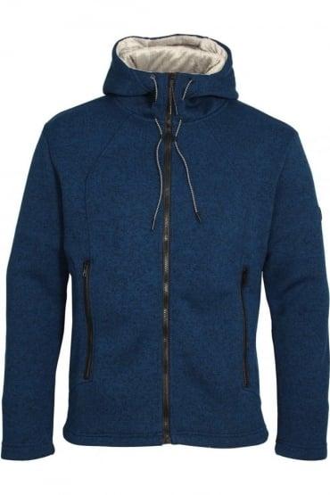Guard Fleece Lined Hoodie Olympian Blue