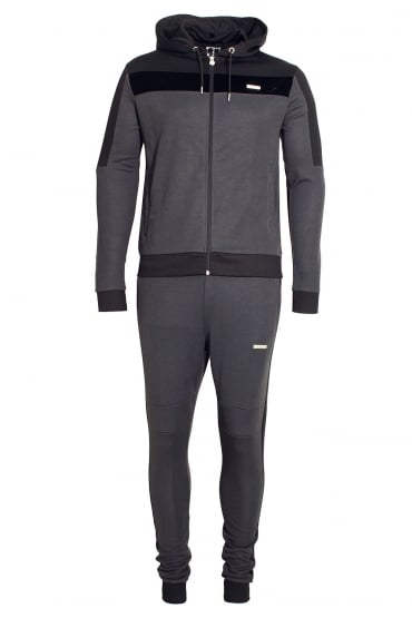 Invictus Hooded Tracksuit | Charcoal
