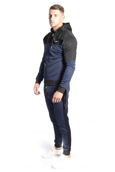 Invictus Hooded Tracksuit | Navy