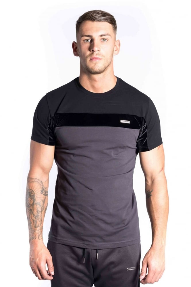 FORAY Invictus Men's T-Shirt | Charcoal