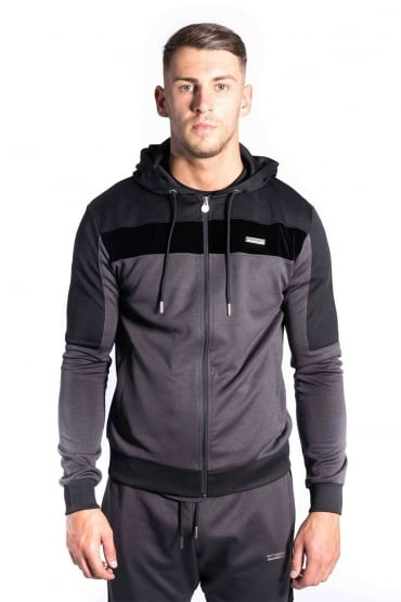Invictus Tricot Hoodie Charcoal