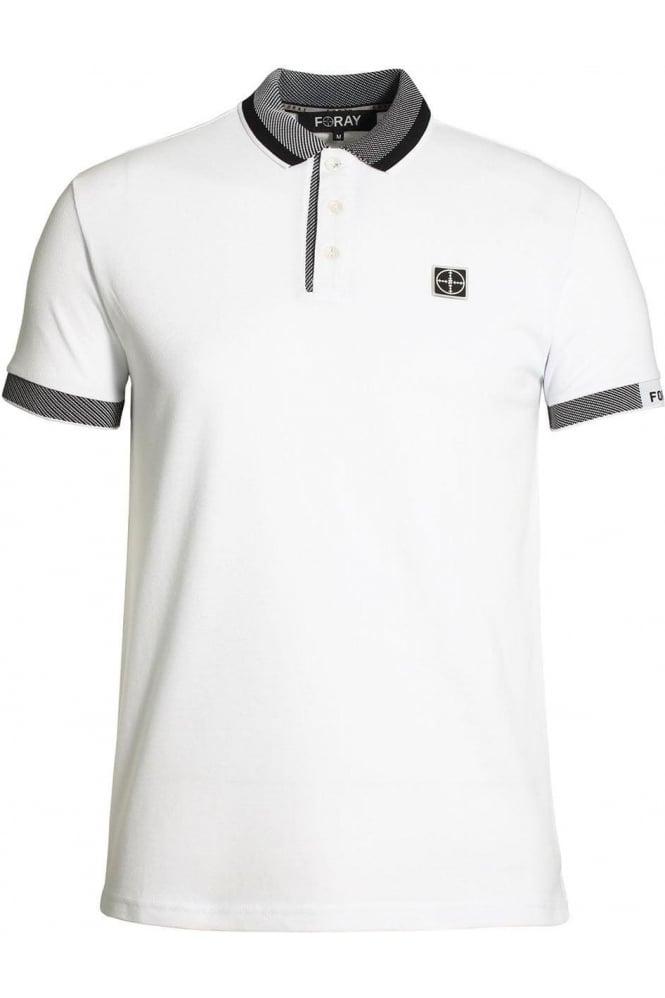 FORAY Lithium Polo Shirt White