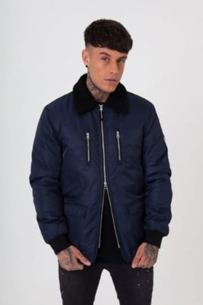 MA2 Shear Collar Men's Jacket Navy