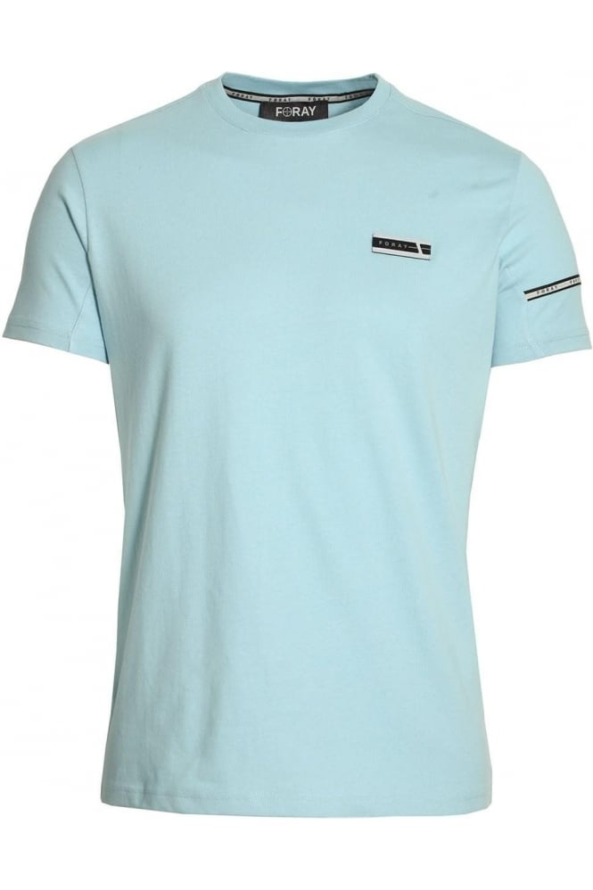 FORAY Mega Tee with Reflective Stripe Blue