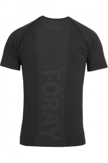 Stretch Fit Action Gym Tee Black