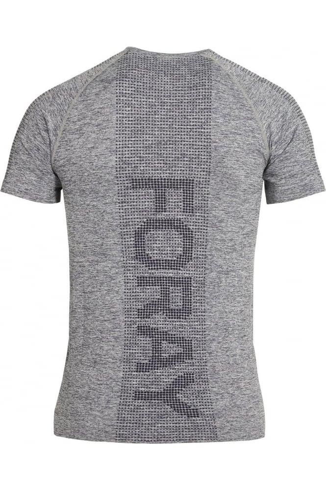 FORAY Stretch Fit Action Gym Tee Grey Marl
