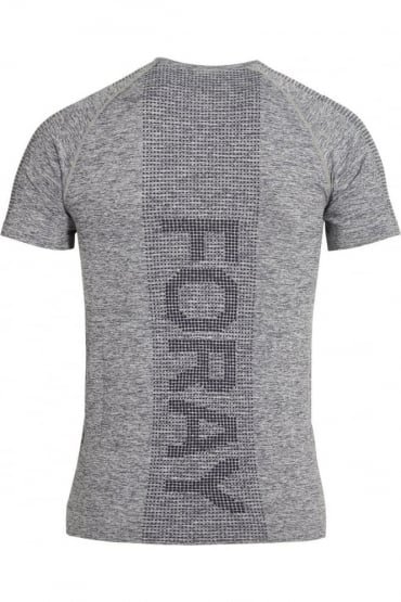 Stretch Fit Action Gym Tee Grey Marl