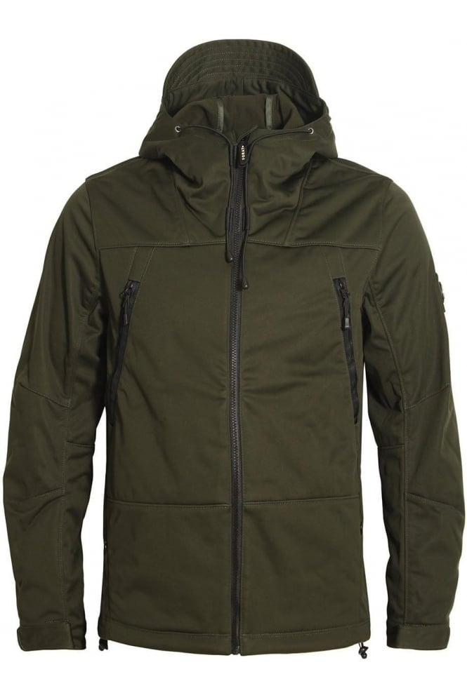 FORAY Target Hooded Jacket | Khaki