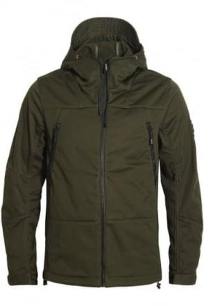 Target Hooded Jacket | Khaki