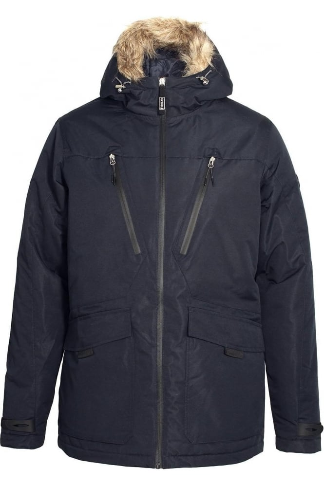 FORAY Tempest Dress Blue Parka Jacket