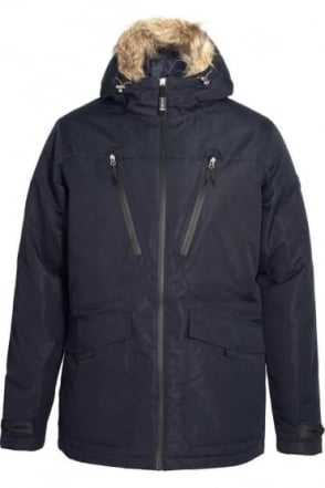 Tempest Dress Blue Parka Jacket