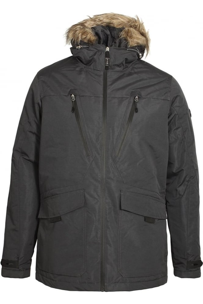 FORAY Tempest Grey Parka Jacket