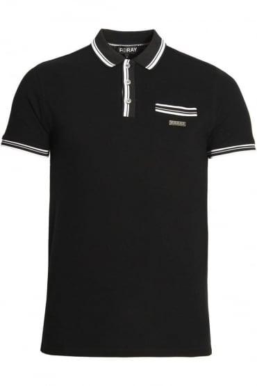 Vera Polo Shirt | Black