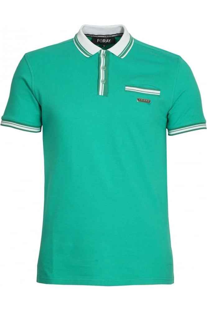 FORAY Vera Polo Shirt | Green