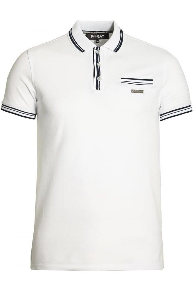 FORAY Vera Polo Shirt | White