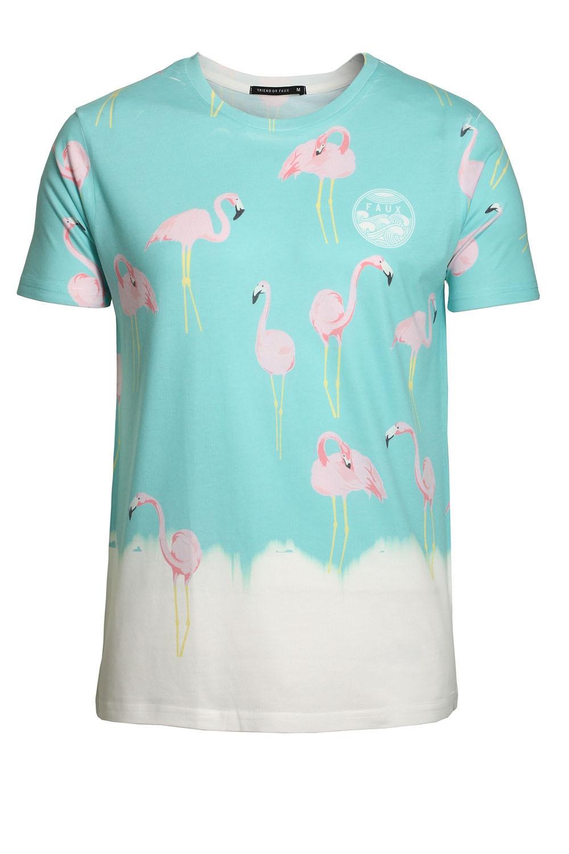 friend or faux flamingo tshirt shop friend or faux t
