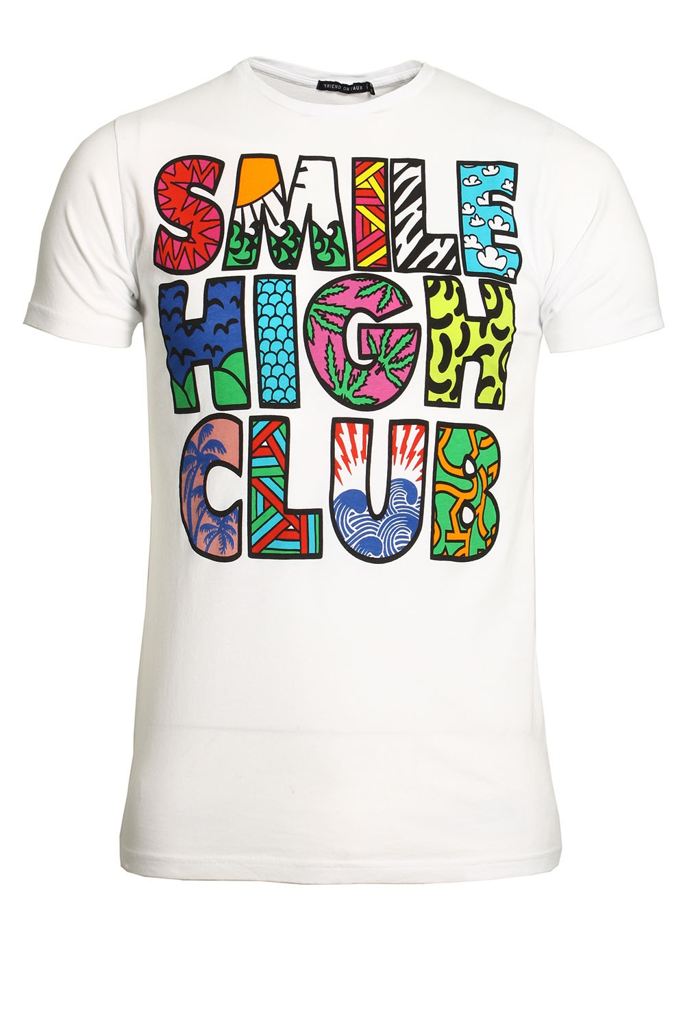 Friend or faux smile high club t shirt shop friend or for T shirts for clubs