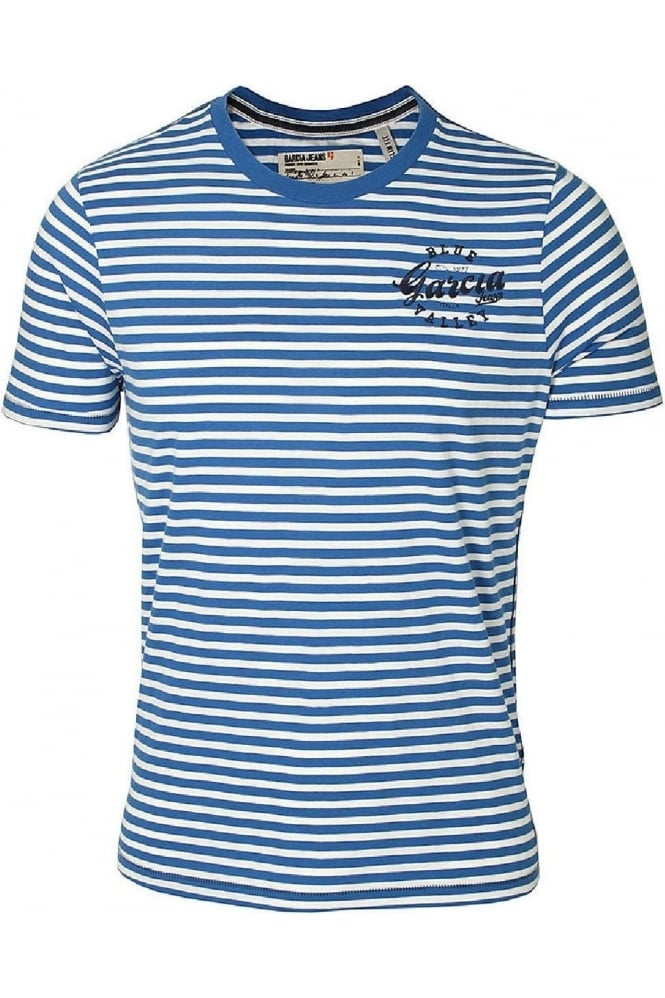 GARCIA JEANS Pero T-Shirt | Coral Blue