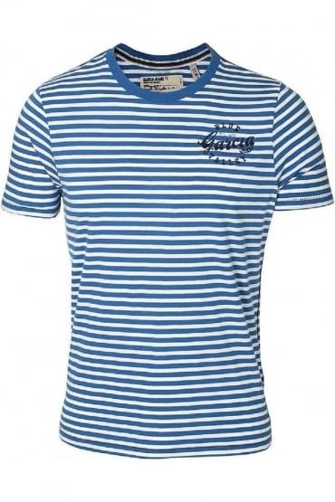 Pero T-Shirt | Coral Blue