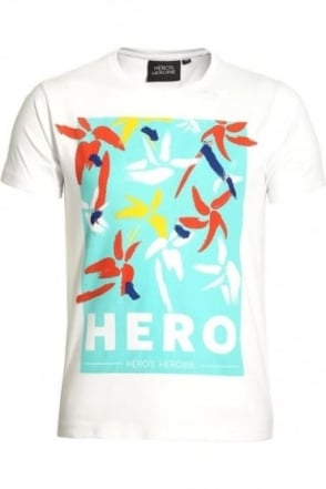 Hibiscus Remix T-Shirt White