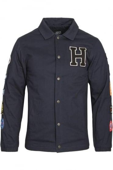 Navy Coach Jacket