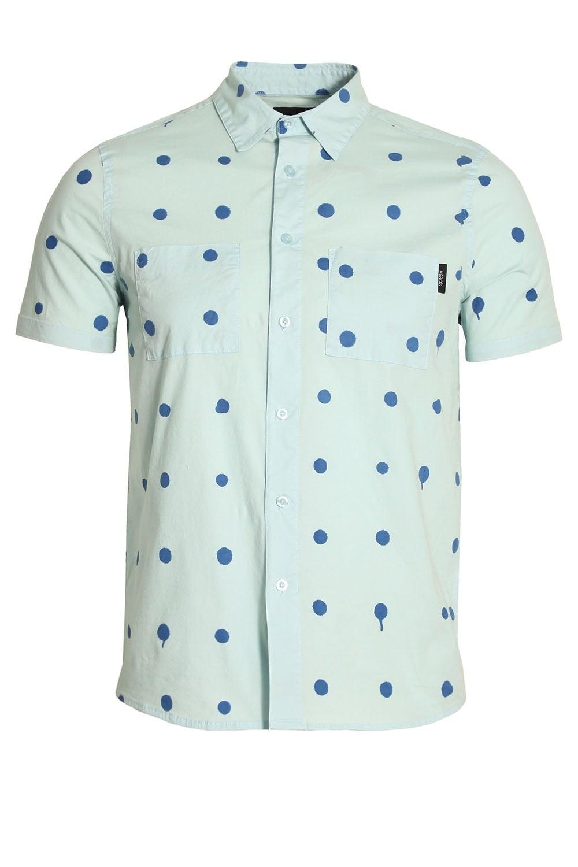 Hero 39 S Heroine Polka Dot Short Sleeve Cotton Shirt Buy