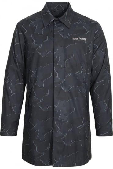 Raincoat | Black Grey