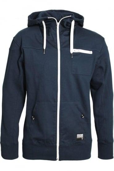 Zachary Hooded Jacket | Navy