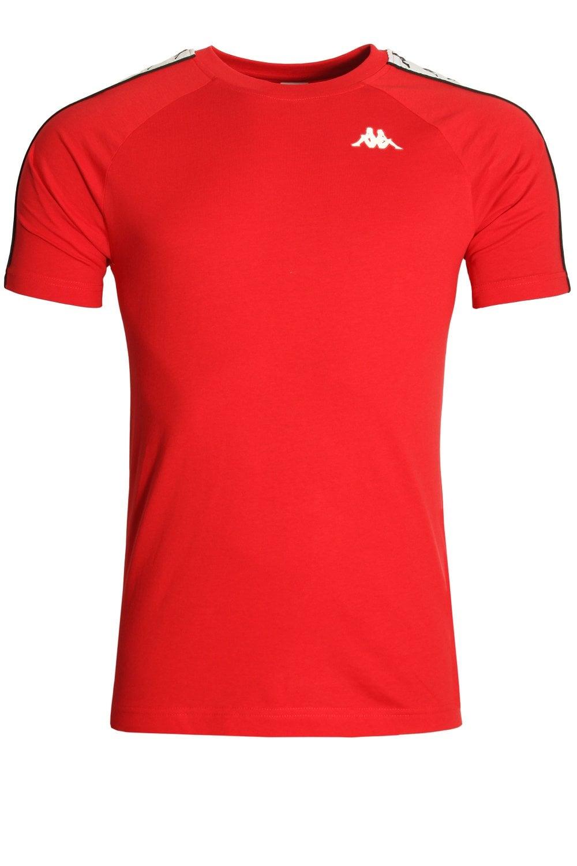 new style 93d5c e22d2 KAPPA Banda Coen T-Shirt | Red/White