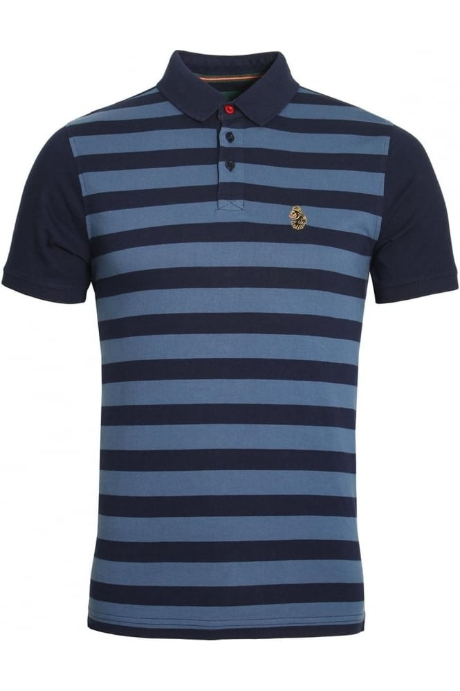 LUKE SPORT 9 Dream Striped Polo Shirt