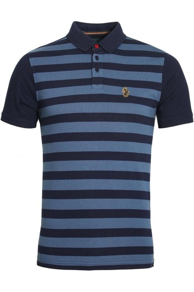 LUKE SPORT 9 Dream Striped Polo Shirt