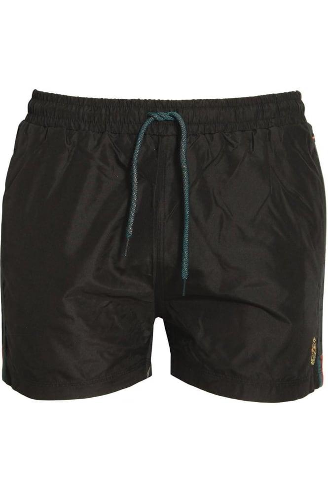 LUKE SPORT Barnsey 2 Men's Gym Shorts | Jet Black