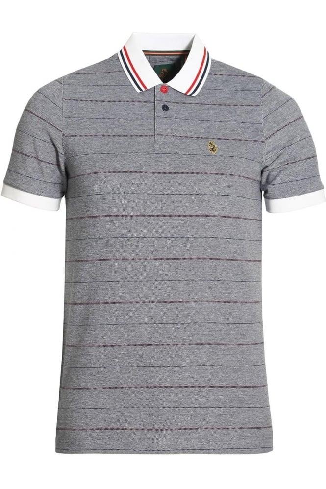 LUKE SPORT Brahamas Polo Shirt | Lux Navy Mix