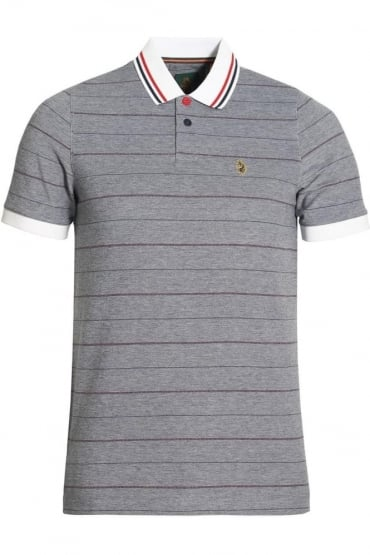Brahamas Polo Shirt | Lux Navy Mix